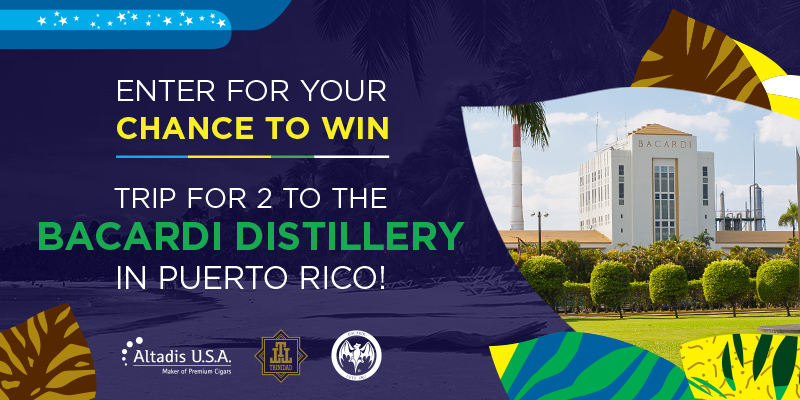 WIN A TRIP TO PUERTO RICO!