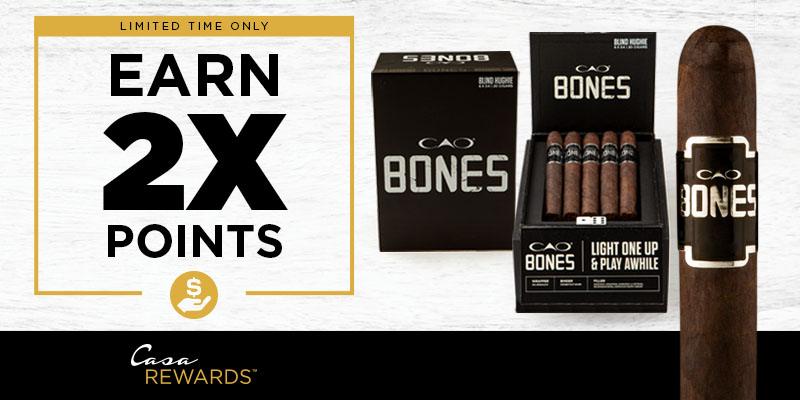 EARN 2X POINTS ON CAO BONES