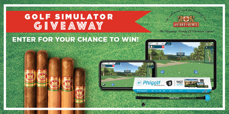 GOLF GAME SIMULATOR GIVEAWAY!