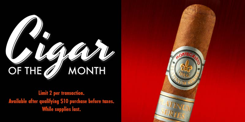 May's Cigar Of The Month: