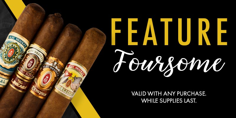 Alec Bradley Feature Four: