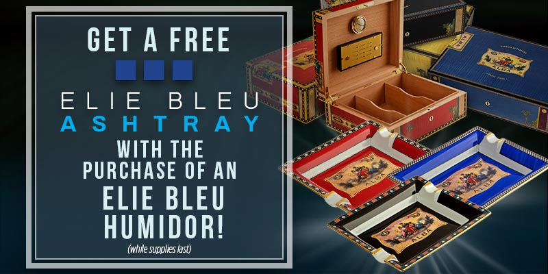 Elie Blue Humidor Deal: