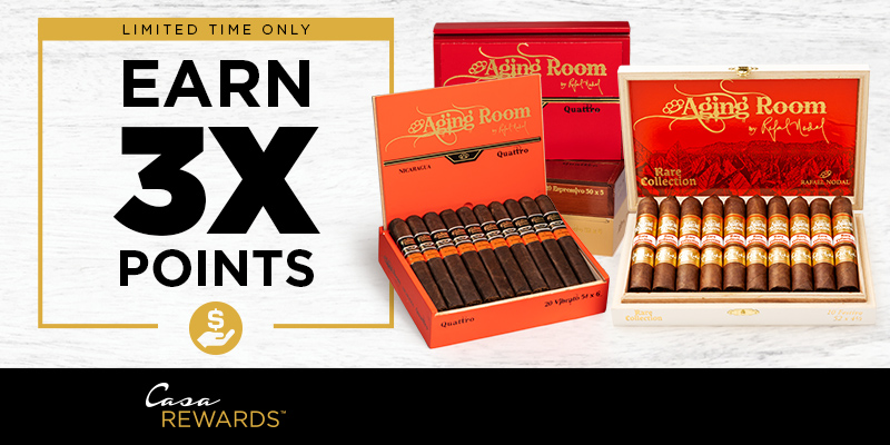 EARN 3X POINTS ON AGING ROOM