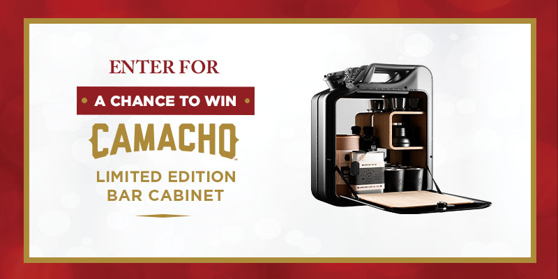 WIN A CAMACHO BAR CABINET