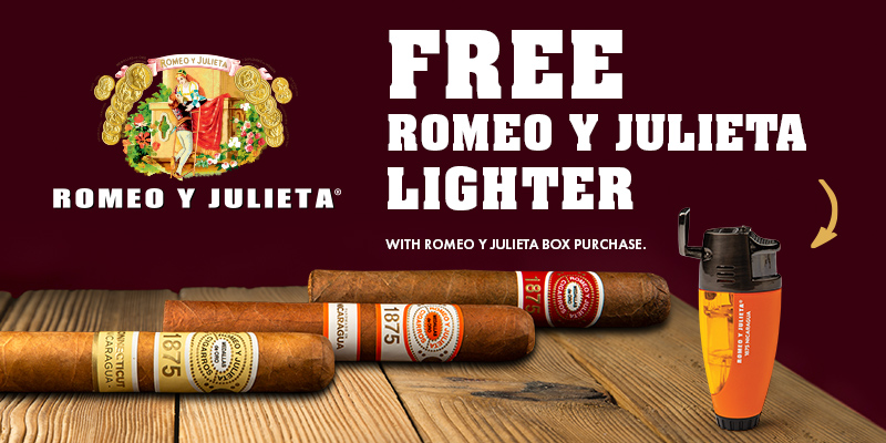 FREE ROMEO Y JULIETA LIGHTER