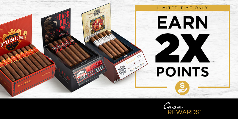 EARN 2X POINTS ON PUNCH!