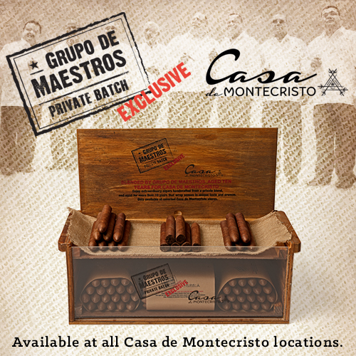 Grupo De Maestros Casa de Montecristo Private Batch