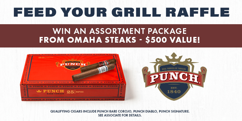 FEED YOUR GRILL RAFFLE!