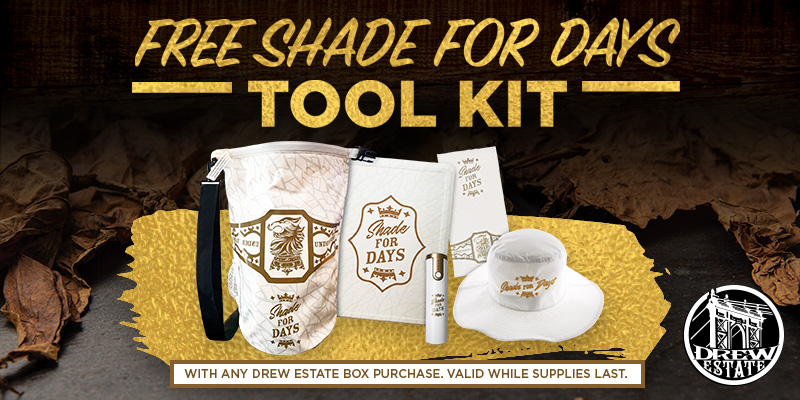 FREE SHADE FOR DAYS TOOL KIT!