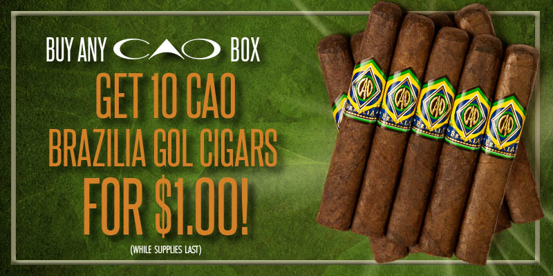 CAO Buy a Box get 10 CAO Gol for $1
