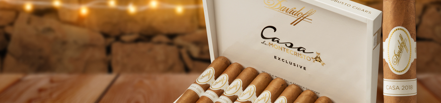 Introducing Casa 2018 by Davidoff, Exclusively at Casa de Montecristo!
